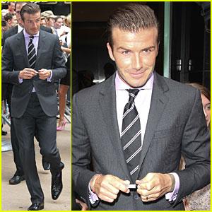 David Beckham: Good Morning America!