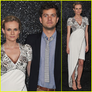 Diane Kruger: Chanel Show with Joshua Jackson!
