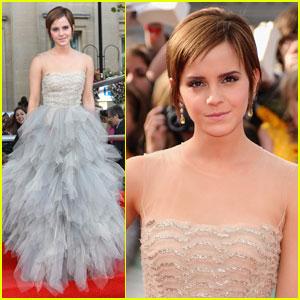 Emma Watson: 'Harry Potter Deathly Hallows' Premiere!