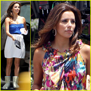 Eva Longoria: Hosting Alma Awards with George Lopez!
