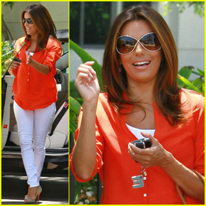 Eva Longoria: Pole Dancing & Striptease for 'Housewives'?