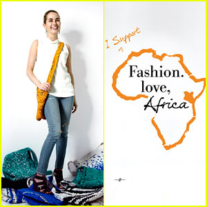 Amanda Hearst: I Support 'Fashion. Love, Africa'