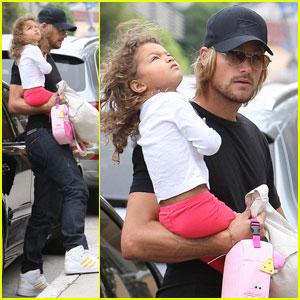 Gabriel Aubry: Daddy Duties with Nahla
