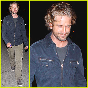 Gerard Butler: Party in Malibu!