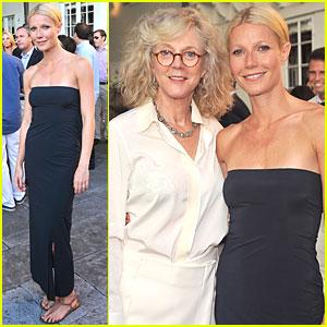 Gwyneth Paltrow: Baby Buggy Summer Dinner!