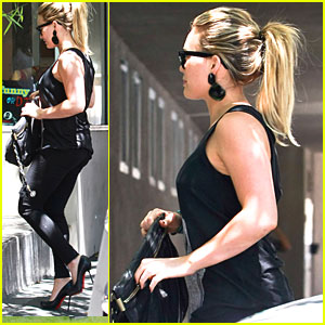 Hilary Duff: Funny or Die Office Visit!