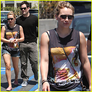 Hilary Duff: Lunch Date with Mike Comrie!