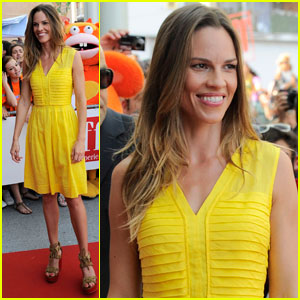 Hilary Swank: Giffoni Film Festival in Italy!