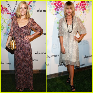 Jaime King & Dianna Agron: Ella Moss Anniversary Party!
