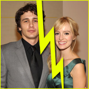 James Franco & Ahna O'Reilly Split