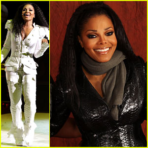 Janet Jackson Honors Brother Michael in London
