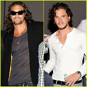 Jason Momoa & Kit Harington: 'Game of Thrones' Panel!