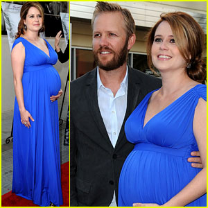 Jenna Fischer: 'A Little Help' Premiere with Lee Kirk!