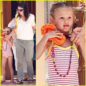 Jennifer Garner: Violet's Afternoon Swim!