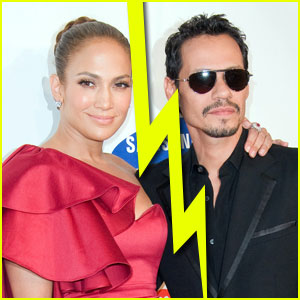 Jennifer Lopez & Marc Anthony Split