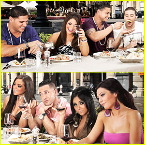 Jersey Shore Official Italy Cast Photo - EXCLUSIVE