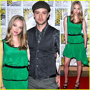 Justin Timberlake & Amanda Seyfried: 'In Time' Trailer!