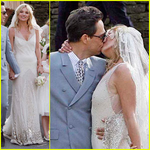 Kate Moss & Jamie Hince: Just Married!
