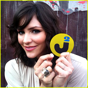 Katharine McPhee - JustJared.com Exclusive Interview!