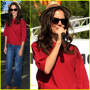 Katie Holmes: National Dance Day Celebration!