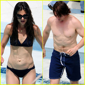 Katie Holmes & Tom Cruise: Birthday Pool Party!