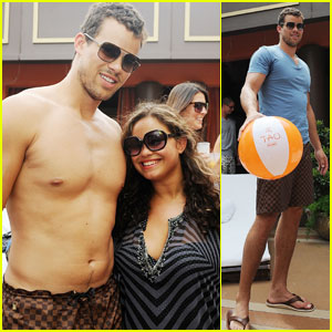Kris Humphries: Bachelor Bash at Tao Beach!