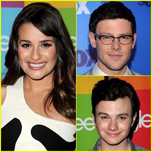 Lea Michele & Chris Colfer Not Returning for 'Glee' Season 4