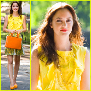 Leighton Meester: Mellow Yellow on 'Gossip Girl'