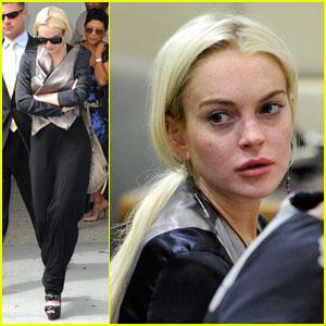 Lindsay Lohan: Progress Report Hearing