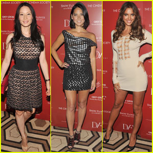 Lucy Liu & Olivia Munn: 'Snow Flower & Secret Fan' Screening!