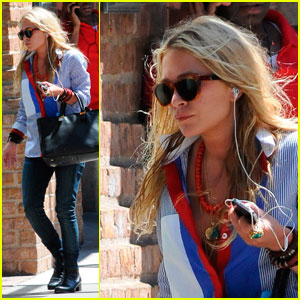 Mary-Kate Olsen Presenting Pop-Up Shop at Music to Know