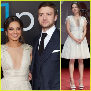 Mila Kunis & Justin Timberlake: 'Friends with Benefits' in Moscow!