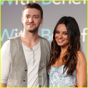 Mila Kunis & Justin Timberlake: 'Friends with Benefits' in Mexico!
