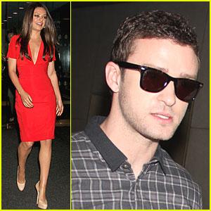 Mila Kunis & Justin Timberlake: 'Today' Twosome