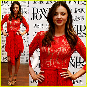 Miranda Kerr Announces 60 New Brands for David Jones!