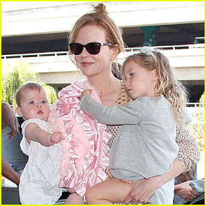 Nicole Kidman, Sunday & Faith: LAX Ladies