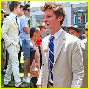 Patrick Schwarzenegger: Summer Internship at the Grove!