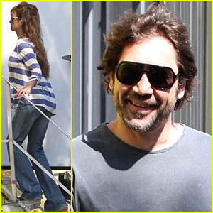 Penelope Cruz & Javier Bardem: 'Bop Decameron' Set!
