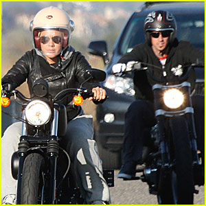 Pink & Carey Hart: Motorcycle Mates