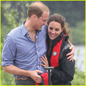 Prince William & Kate: Boat Race on Prince Edward Island!