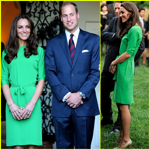 Prince William & Kate: British Consul-General Reception!