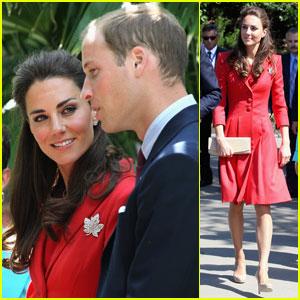 Prince William & Kate Visit the Calgary Zoo