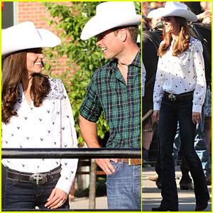 Prince William & Kate: Calgary Cowboys!