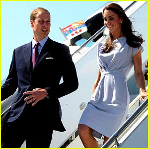 Prince William & Kate: Los Angeles Landing!