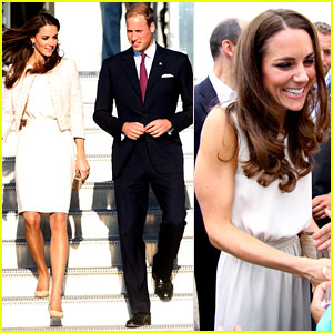 Prince William & Kate: Prince Edward Island Arrival!