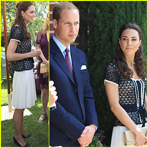 Prince William & Kate: Tusk Trust Reception!