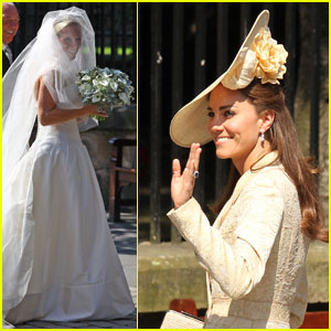 Prince William & Kate Attend Zara Phillips' Wedding