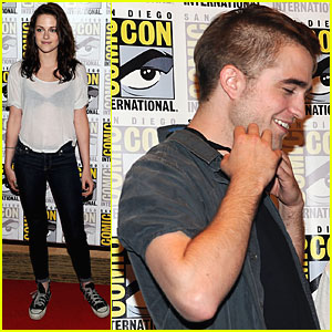 Robert Pattinson & Kristen Stewart: Breaking Dawn at Comic-Con!