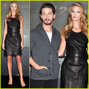 Rosie Huntington-Whiteley: Osaka Press Conference!