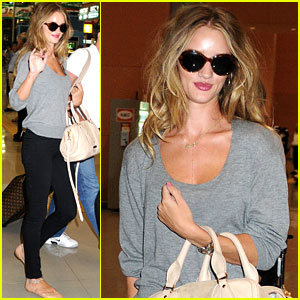 Rosie Huntington-Whiteley: Osaka Arrival